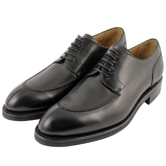 6ff8fd0353583 Exclusif Paris Balzac , Chaussures de ville homme Cuir Noir Cuir ...