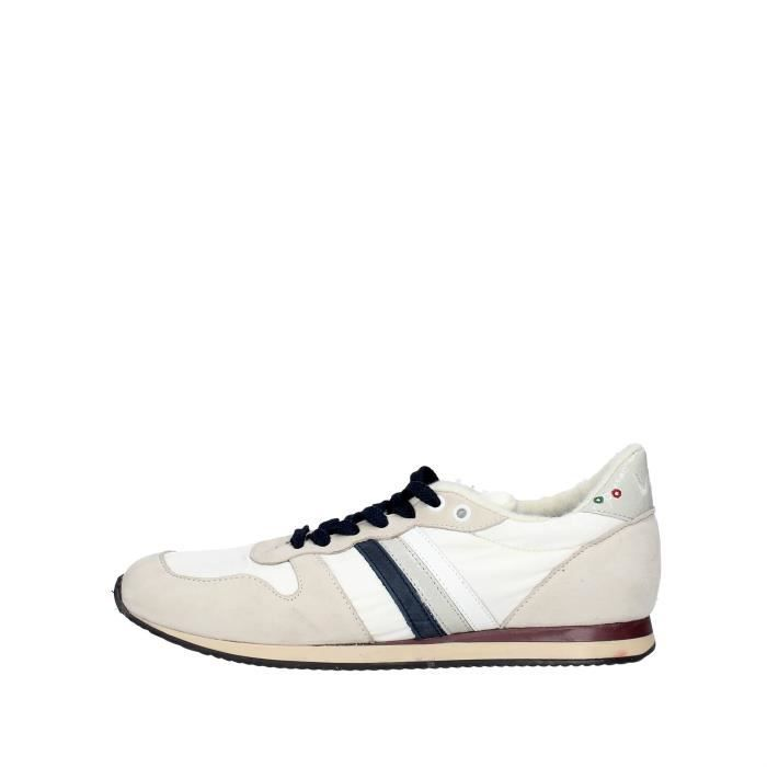 Serafini Sneakers Homme Blanc, 42