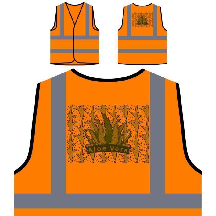 Orange Nature Protection Veste Haute Sain Personnalisée Visibilitéaloe De Personnali Vie À Vera Mode XlkwPOZiTu