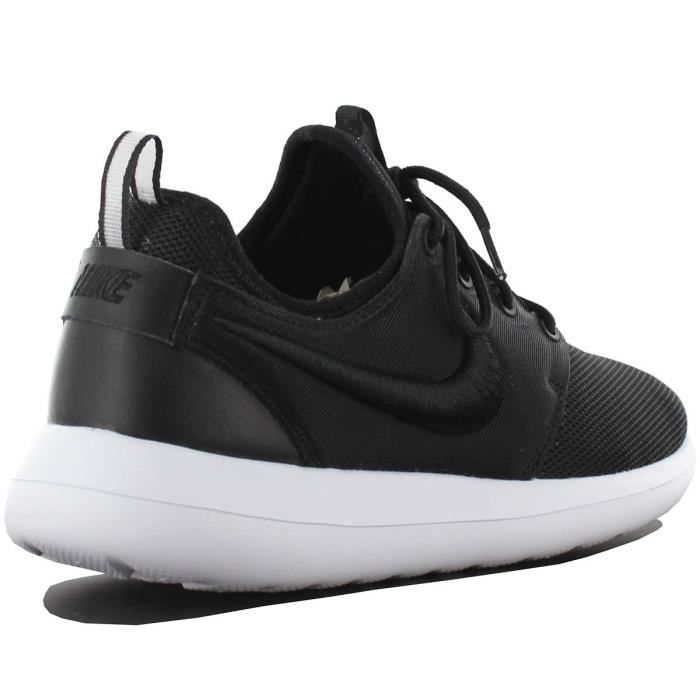 moins cher 1661e 7bfd8 Course Taille Nike Two Pied Chaussure 5 Noir Femme De Roshe ...