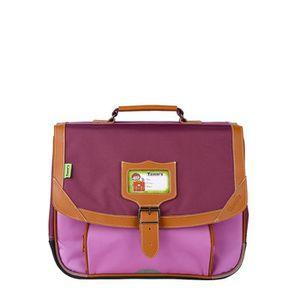 TANN'S Cartable ICONIC Maternelle - 1 compartiment - 3 ? 6 ans - 35cm - Violet - Enfant Fille