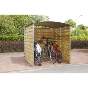 ABRI VÉLO - MOTO Abri extérieur à vélos - motos - poubelles Mottez