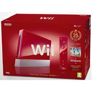 CONSOLE WII Console WII Rouge !