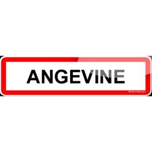 PORTE D'ENTRÉE Stickers Angevin et Angevine