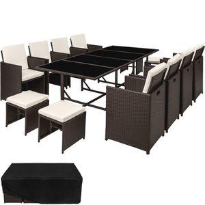 Table et chaise de jardin Plastique - résine - Achat / Vente Table ...