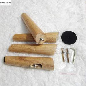 PIED DE LIT XICHAO - Jeu 4 Pieds 20cm pour sommiers à lattes f