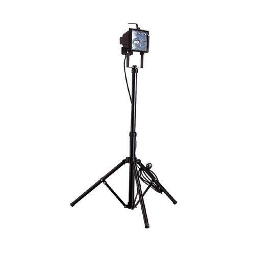 projecteur de chantier sur pied noir r7s 400w ip44 aric maxi stand achat vente lampe de. Black Bedroom Furniture Sets. Home Design Ideas