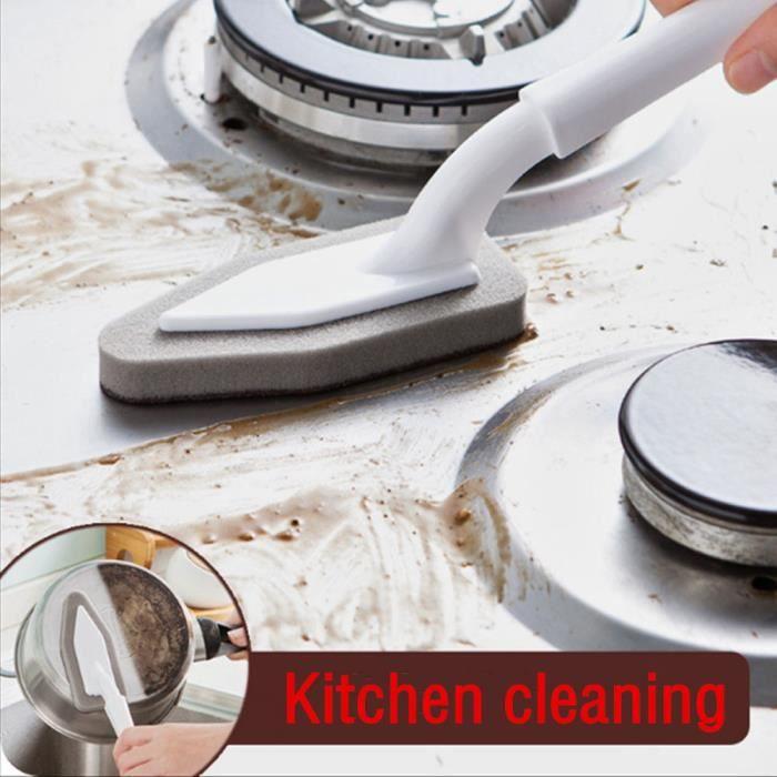 Cuisine Nano Emery Magique Clean Rub Pot Rouille Focal Taches Éponge Kit de Suppression@hxq5781