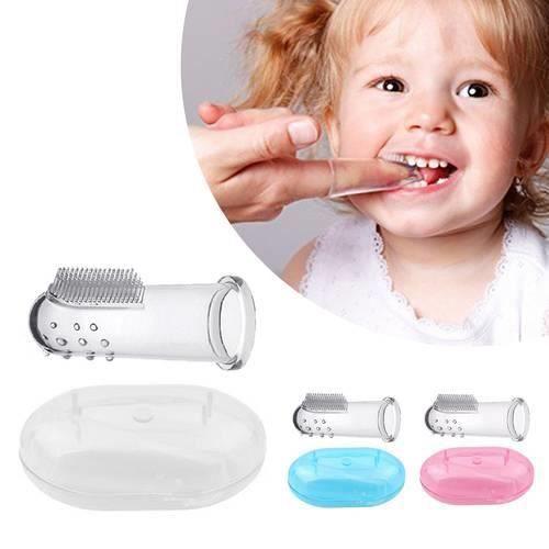 Les soins dentaires de masseur dentaire de dents de dents de doigt ... a18d6c147101