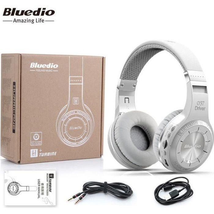 Casque Bluetooth Bluedio H+ (Turbine) Microphone