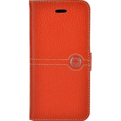 FACONNABLE Etui folio pour iPhone 5   5S - Orange - Achat housse ... 14c79d250994
