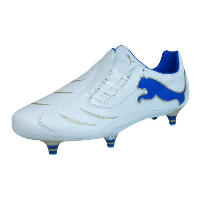 Puma PowerCat.10 SG Homme cuir Chaussures de football Noir