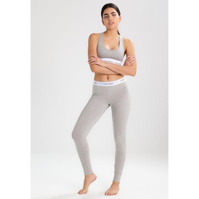 Calvin Klein leggings et bustier Set gris gris - Achat   Vente ... f4f4ba0f210
