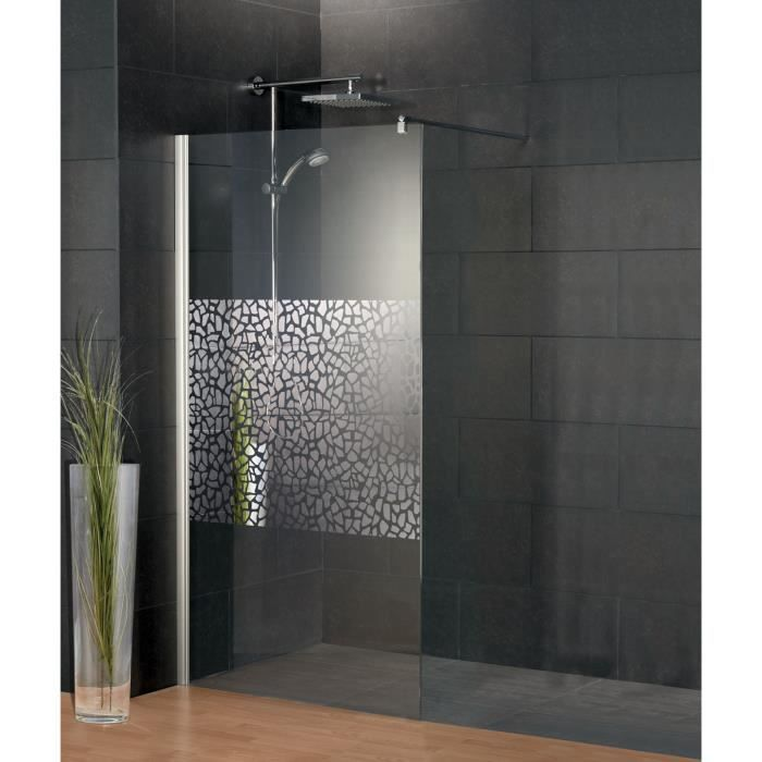 paroi de douche fixe l 39 italienne 120x190 cm anticalcaire. Black Bedroom Furniture Sets. Home Design Ideas