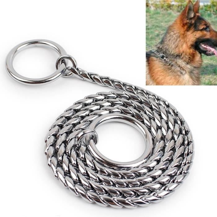 Collier Chien Chat 65cm Pet P Chaîne Colliers Animaux De Compagnie Neck Strap Neckband Serpent