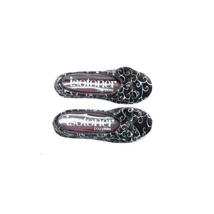 Chaussons ballerines femme grand noeud - 95811