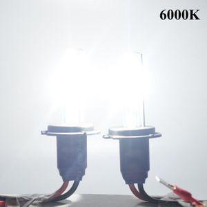 Deux Ballasts HID Minces 12V 2pcs H4 55w Ampoules de Phare X/énon Kit de Conversion X/énon 6000K