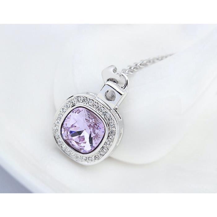 Cristal Swarovski et Preciosa strass Collier pendentif de femmes. Tous les jours - Tenues de soirée Mode Bijoutier UNJ0F