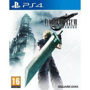 JEU PS4 NOUVEAUTÉ Final Fantasy VII: Remake Jeu PS4