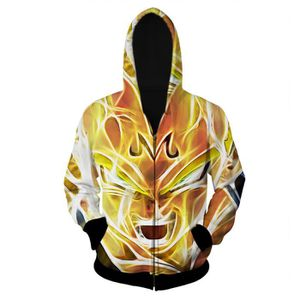 DÉGUISEMENT - PANOPLIE Dragon Ball Super Sweat-Shirt à Capuche Homme