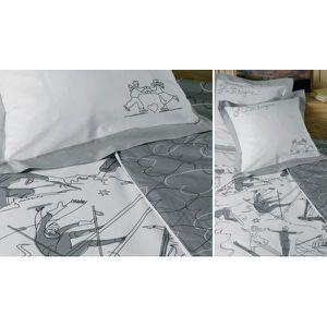 housse de couette montagne achat vente housse de couette montagne pas cher soldes d s le. Black Bedroom Furniture Sets. Home Design Ideas