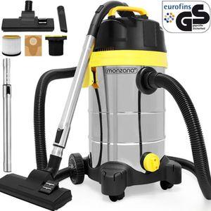 ASPIRATEUR INDUSTRIEL Aspirateur eau poussière avec accessoires 30L