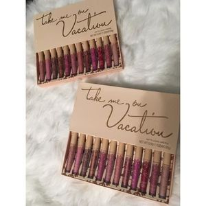 ROUGE A LÈVRES Kylie Jenner - Take Me On Vacation - 12 Lipsticks