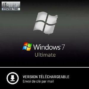 BUREAUTIQUE À TÉLÉCHARGER Windows 7 Intégrale - A Télécharger