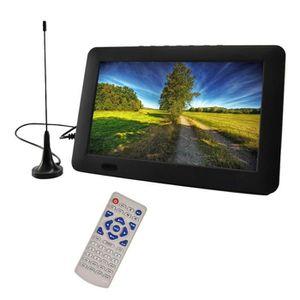 Téléviseur LED Voiture Téléviseur HD numérique portable 12