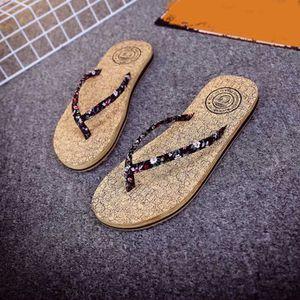 TONG Femmes Mode Sandales d'été Slipper intérieur Tongs