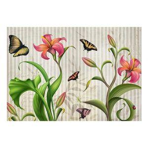 mesure 250x175 contemporain papier peint papillons nature. Black Bedroom Furniture Sets. Home Design Ideas