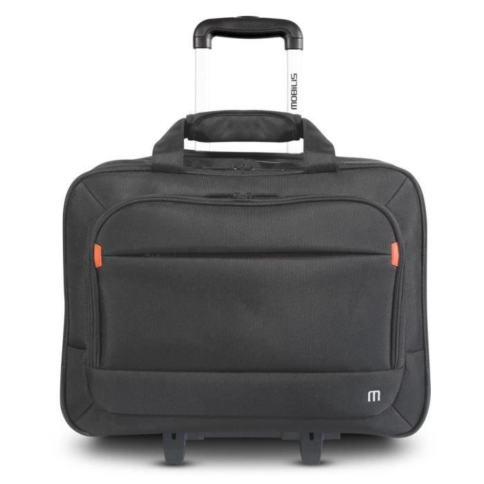 MOBILIS Valise pour ordinateur portable sur roue - Roller Executive 2 - 14-16'' - Noir