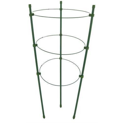 tuteur cercle support 3 anneaux pour plante achat vente tuteur lien attache tuteur. Black Bedroom Furniture Sets. Home Design Ideas