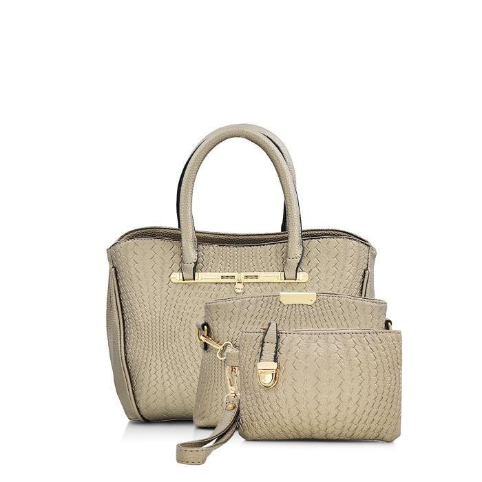 Womens Golden Handbag (mbg 0418 Gdn) F0TJA
