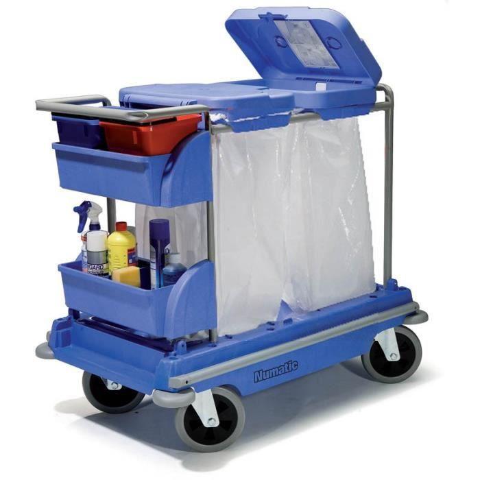 Chariot Ménage 2 Sacs Numatic - Achat / Vente Nettoyage Sol