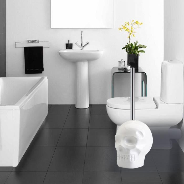 Brosse WC Skull - Brosse à toilettes originale et décorative ...