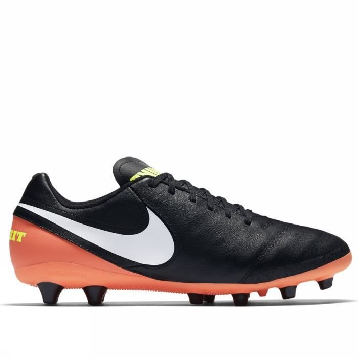 newest d6637 68bf5 NIKE TIEMPO GENIO II LEATHER AG PRO 844399 018 FOOTBALL HOMME