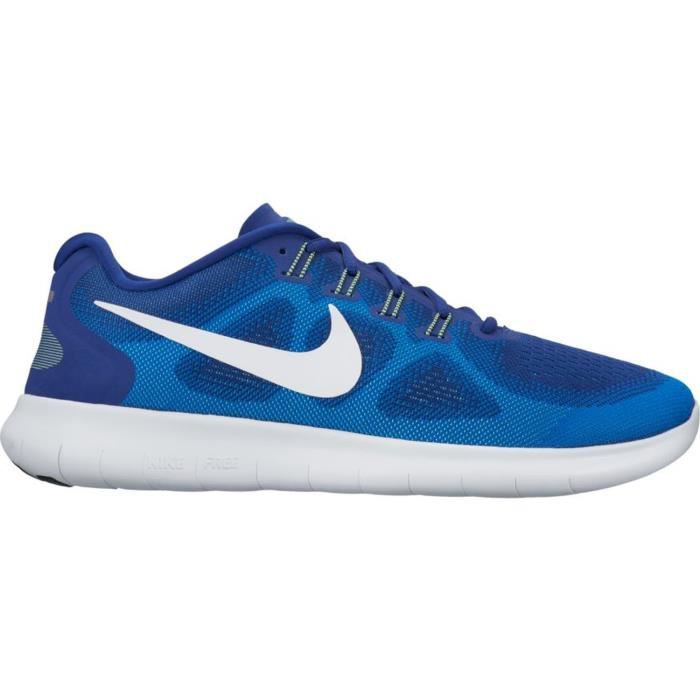 separation shoes 2f467 7dfe5 Chaussure Nike Free RN Bleu