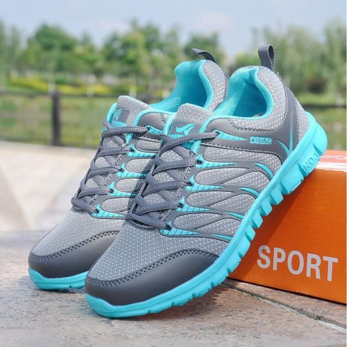 Baskets Chaussures de course respirant à chaussures pour femmes Chaussures de sport décontractées hQ9AOU5ZCV