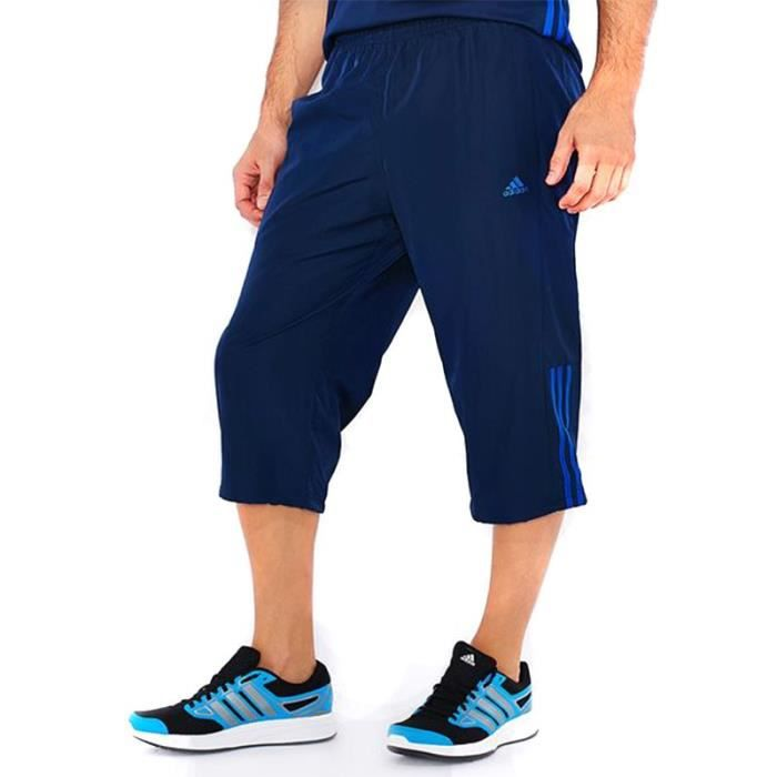 Achat Adidas Pantalon Vente Bleu 3s Homme 34 Base xwxY67zP