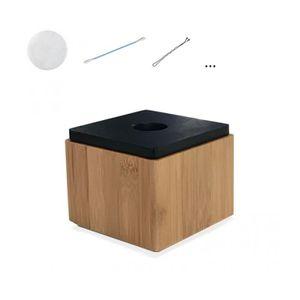 Boite bambou achat vente boite bambou pas cher cdiscount for Boite de rangement salle de bain