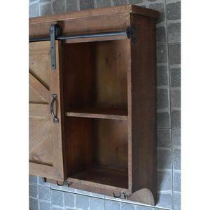 petit meuble porte coulissante achat vente pas cher. Black Bedroom Furniture Sets. Home Design Ideas