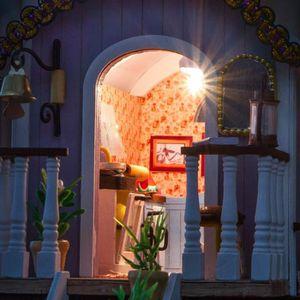 maquette maison bois achat vente jeux et jouets pas chers. Black Bedroom Furniture Sets. Home Design Ideas