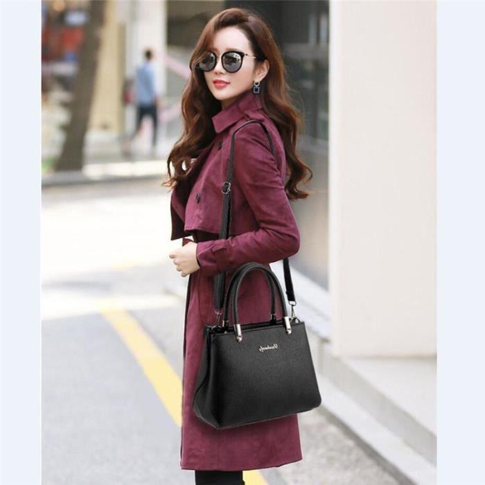 sac cuir femme sac marque Nouvelle arrivee sacs sacs à main femmes célèbres marques violet sac à main femme sac cuir noir petit sac