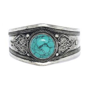 BRACELET - GOURMETTE Bracelet Turquoise Boho Bracelet Bracelet Gypsy Br