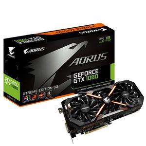 CARTE GRAPHIQUE INTERNE Gigabyte GeForce GTX 1080 Aorus 8G 11 Gbps, 8192 M