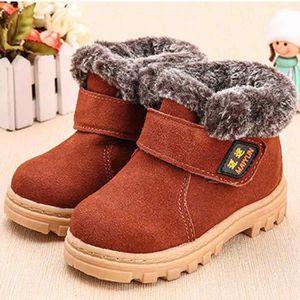 BOTTE Spentoper Mode Hiver Bébé Enfant Coton Style Boot