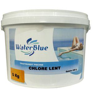 TRAITEMENT DE L'EAU  Chlore lent waterblue galets 250g - 10kg