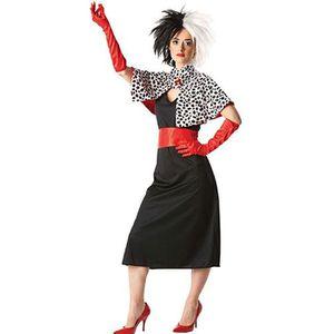 DÉGUISEMENT - PANOPLIE Déguisement Cruella femme Nouveau design Taille S
