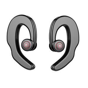 CASQUE - ÉCOUTEURS Crochet pour oreillette sans fil Bluetooth Stéréo